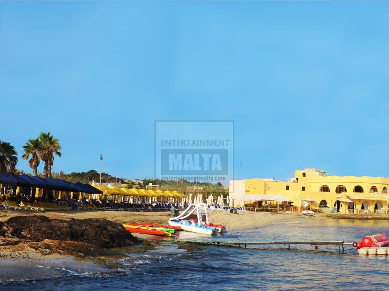 Armier Beach - beaches in Malta