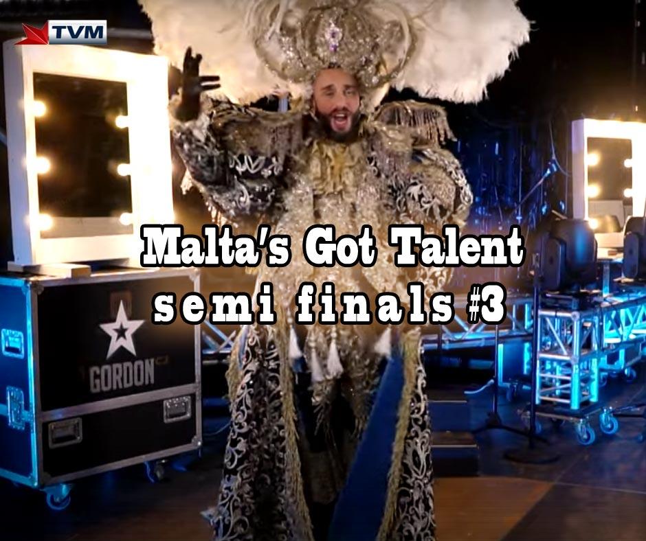 Malta's Got Talent Semi Finals 3 #mgt