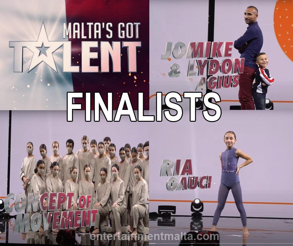 Malta's Got Talent Finalists
