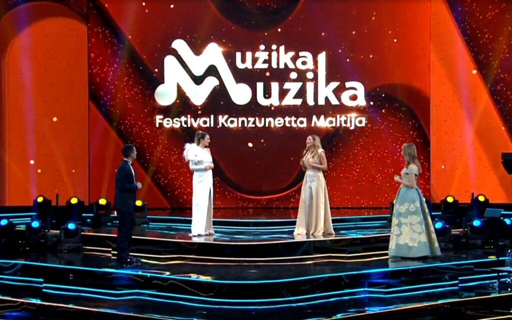 Presenters Muzika Muzika 2021 Malta Song Festival