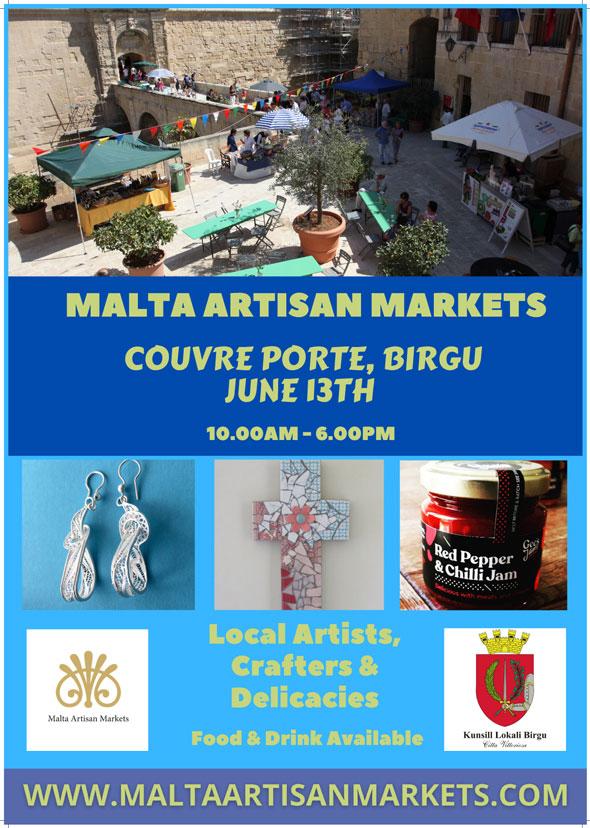 Malta Artisan Markets Poster